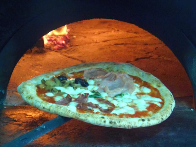 La pizza al Capo Blanco