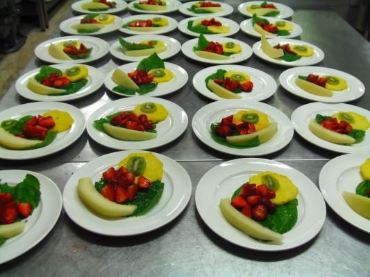 Preparazione frutta